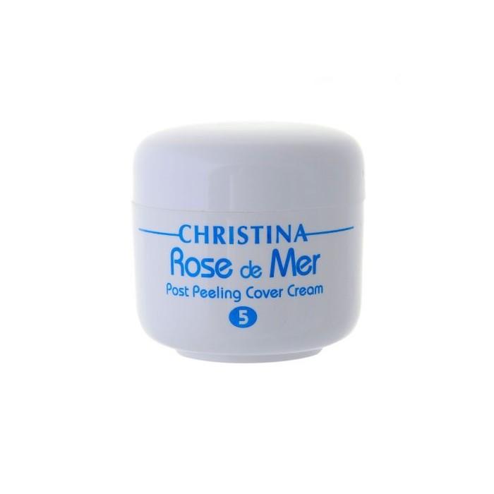 Постпилинговый тональный защитный крем Роз де Мер, 20 мл / Rose De Mer 5 Post Peeling Cover Cream, 20 ml