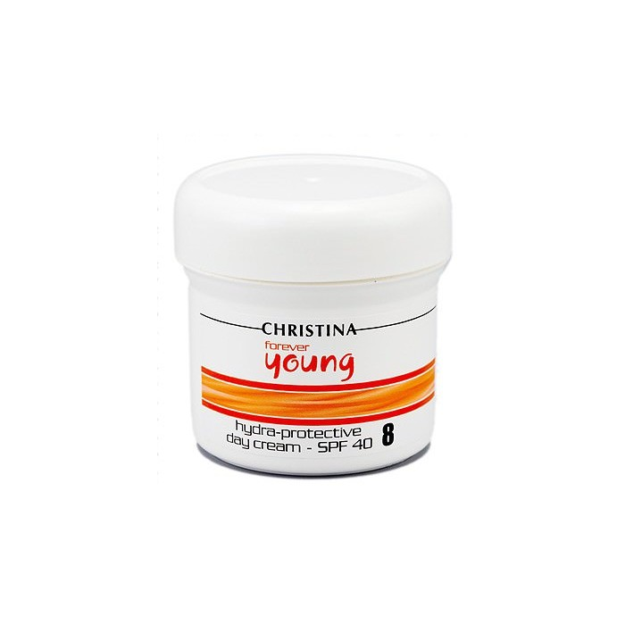 Дневной солнцезащитный и увлажняющий крем (шаг 8), 150 мл / Forever Young Hydra Protective Day Cream SPF-40, 150 ml