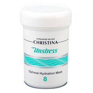 Оптимальная увлажняющая маска (шаг 8), 250 мл / Unstress Optimal Hydration Mask, 250 ml