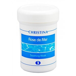 Успокаивающая маска (шаг 3), 250 мл / Rose de Mer Soothing Mask, 250 ml
