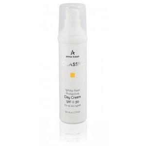 Увл. Крем с белым жемчугом с СПФ 30 50 мл / White Pearl Protective Day Cream SPF30 50 ml