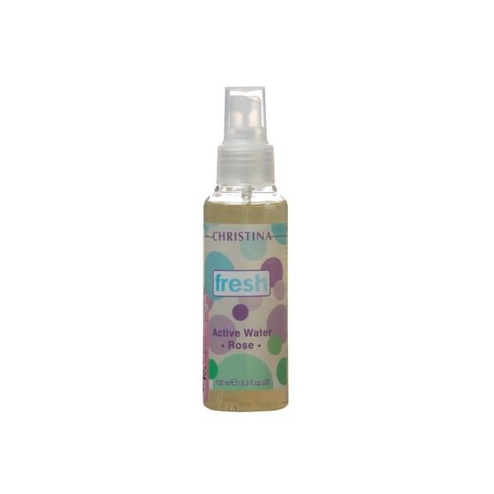 Активная розовая вода для усталой кожи, 100 мл / Fresh-Active Rose Water, 100  ml