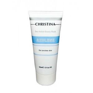 Азуленовая маска красоты для чувствительной кожи, 60 мл / Sea Herbal Beauty Mask Azulene, 60 ml