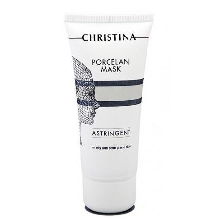 """Поросуживающая фарфоровая маска """"Порцелан"""" для жирной и проблемной кожи, 60 мл / Porcelan Astrigent Porcelan Mask, 60 ml"""