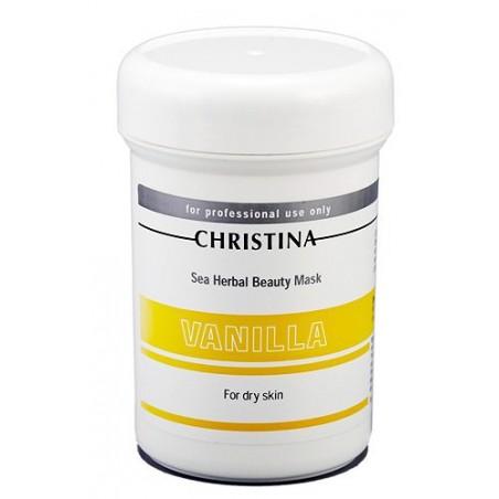 Ванильная маска красоты для сухой кожи, 250 мл / Sea Herbal Beauty Mask Vanilla, 250 ml