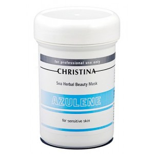 Азуленовая маска красоты для чувствительной кожи, 250 мл / Sea Herbal Beauty Mask Azulene, 250 ml