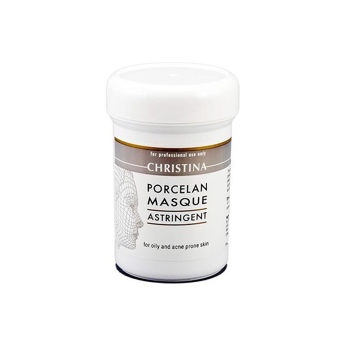 """Поросуживающая фарфоровая маска """"Порцелан"""" для жирной и проблемной кожи, 250 мл / Porcelan Astrigent Porcelan Mask, 250 ml"""
