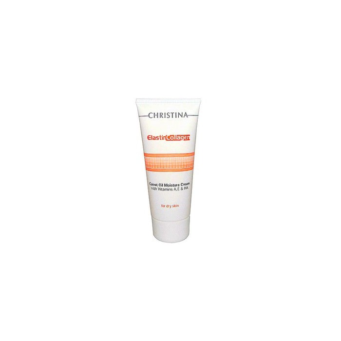 Увлажняющий крем с морковным маслом, коллагеном и эластином, 100 мл / Elastin Collagen Carrot Oil Moisture Cream, 100 ml