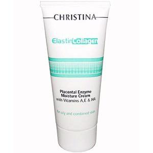 Увлажняющий крем с плацентой, энзимами, коллагеном и эластином,100 мл/Elastin Collagen Placental Enzyme Moisture Cream,100 ml