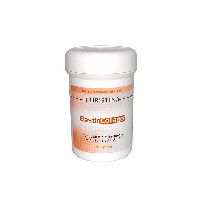 Увлажняющий крем с морковным маслом, коллагеном и эластином, 250 мл / Elastin Collagen Carrot Oil Moisture Cream, 250 ml
