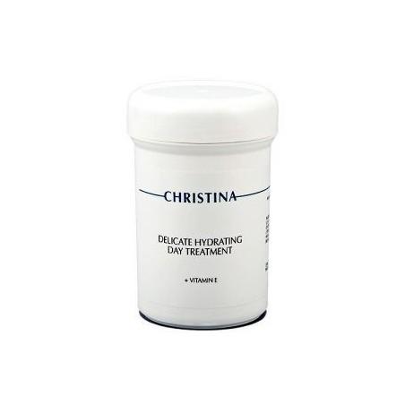 Деликатный увлажняющий дневной крем с витамином Е, 250 мл / Delicate Hydrating Day Treatment + Vitamin , 250 ml