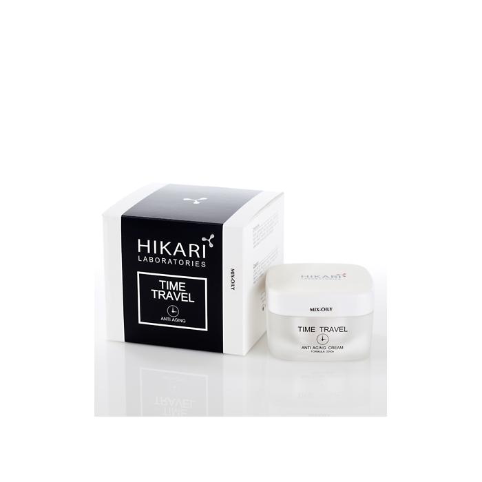 Антивозрастной крем для жирного типа кожи, 50 мл / Time Travel cream Mix - oily, 50 ml