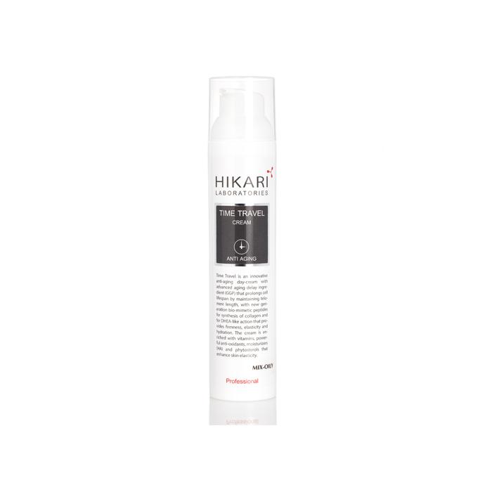 Антивозрастной крем для жирного типа кожи, 100 мл / Time Travel cream Mix - oily, 100 ml