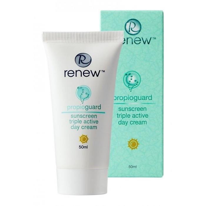 Активный защитный дневной крем, 50 мл / Sunscreen Triple Active Day Cream, 50 ml