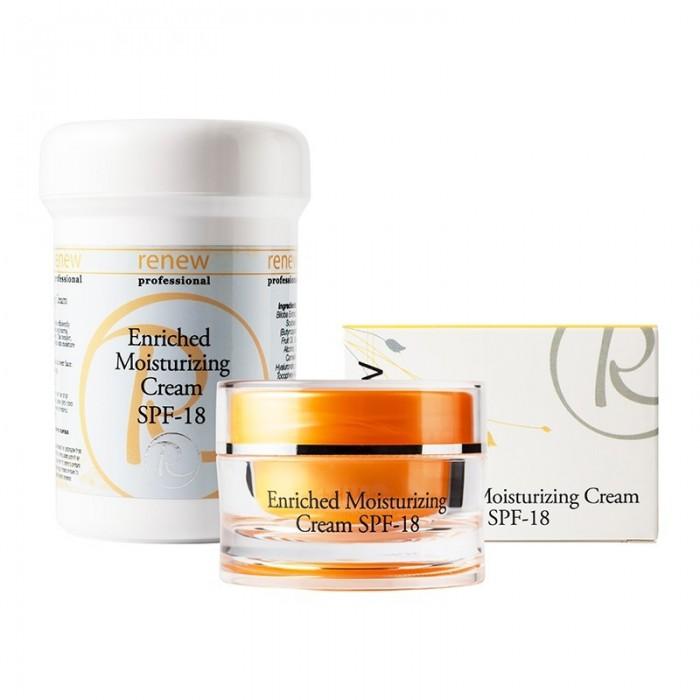 Обогащенный увлажняющий крем, 50 мл / Enriched Moisturizing cream SPF 18, 50 ml