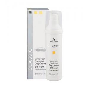 Увлажняющий крем с экстрактом жемчуга с SPF 30, 50 мл / White Pearl Protective Day Cream SPF 30, 50 ml