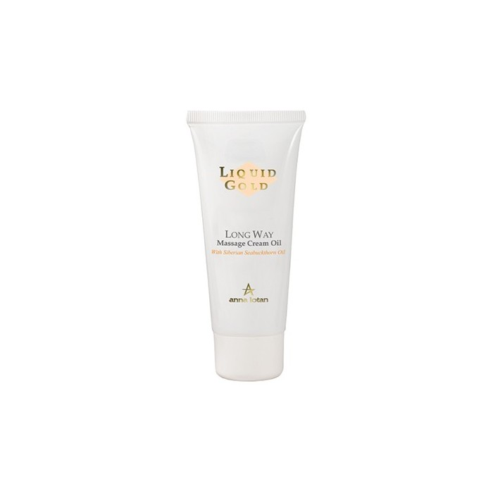 Золотое крем-масло для массажа лица и тела, 50 мл / Long Way Massage Cream Oil, 50 ml