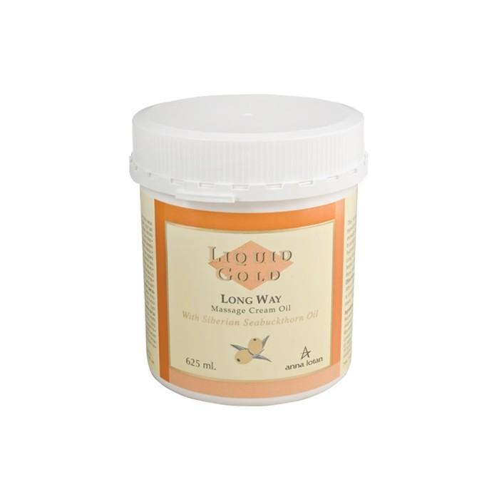 Золотое крем-масло для массажа лица и тела, 625 мл / Long Way Massage Cream Oil, 625 ml