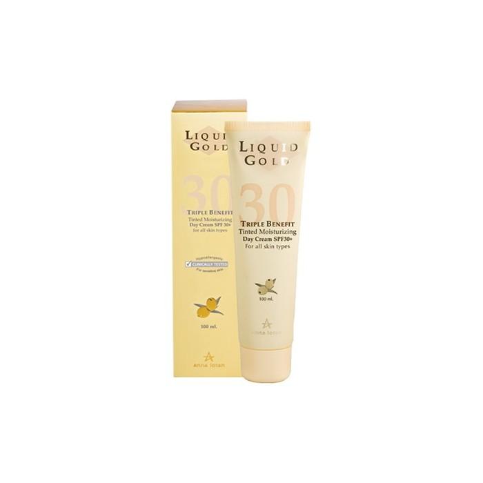 Крем солнцезащитный с тройным эффектом SPF 30, 100 мл / Triple Benefit Tinted Moisturizing Day Cream SPF 30, 100 мл