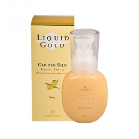 Эмульсия для лица Золотой шелк, 50 мл / Golden Silk Facial Serum, 50 ml