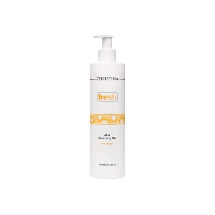 Гель с альфагидроксильными кислотами, 300 мл / Fresh AHA Cleansing Gel, 300 ml