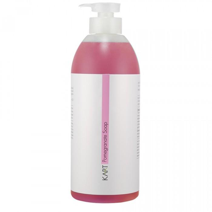 Гранатовое мыло, 1000 мл / Pomegranate liquid soap, 1000 ml