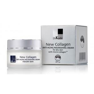 Питательный крем для  сухой кожи c коллагеном 250 мл / NEW-COLLAGEN Nourishing cream for dry skin 250 ml