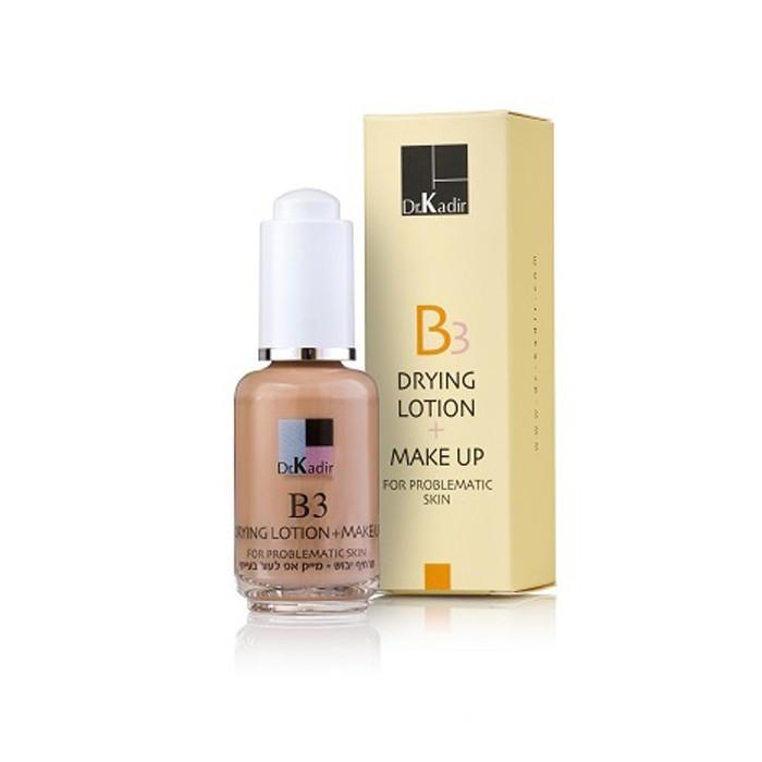 Тонирующая эмульсия для кожи, 30 мл / Drying Suspension + Make Up, 30 ml
