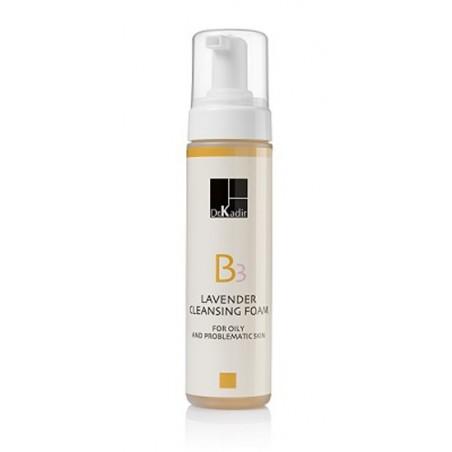 Лавандовая очищающая пенка для проблемной кожи, 200 мл / Lavender Cleaning Foam For oily and problematic skin, 200 ml