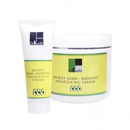 Питательный крем с маслом зародышей пшеницы и авокадо, 250 мл /  Wheat Germ Oil And Avocado Nourishing Cream, 250 ml