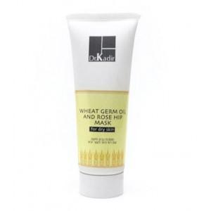 Маска с маслом зародышей пшеницы и шиповника для сухой кожи, 75 мл / Wheat Germ Oil And Rose Hip Mask For Dry Skin, 75 ml