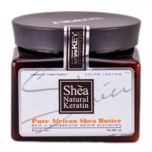 Восстанавливающая маска для окрашенных волос, 500 мл / Pure African Shea Butter, 500 ml