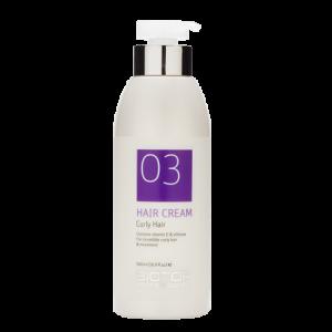 Крем для укладки вьющихся волос, 500 мл / 03 Curly Hair Cream, 500 ml