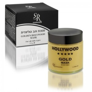 Золотая маска Голливуд, 100 мл / Hollywood Gold Mask 24K, 100 ml