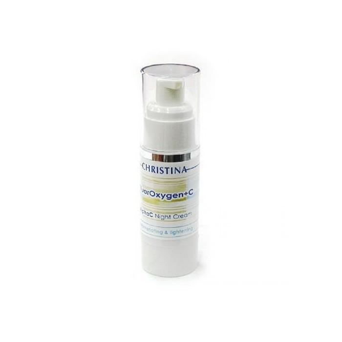 Ночной осветляющий крем, 30 мл / FluorOxygen +C Alpha C Night Cream, 30 ml