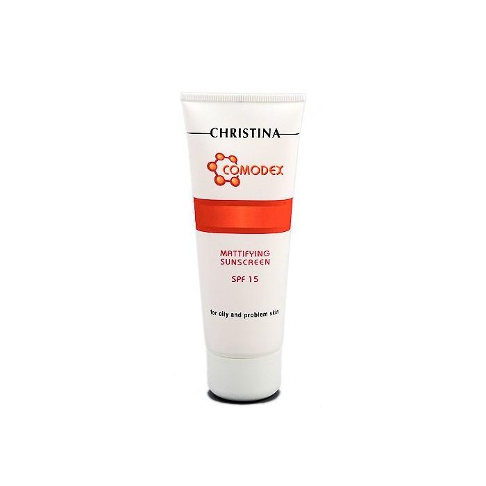 Солнцезащитный крем с матовым эффектом для проблемной кожи, 75 мл / COMODEX - Mattifying SunScreen SPF15, 75 ml