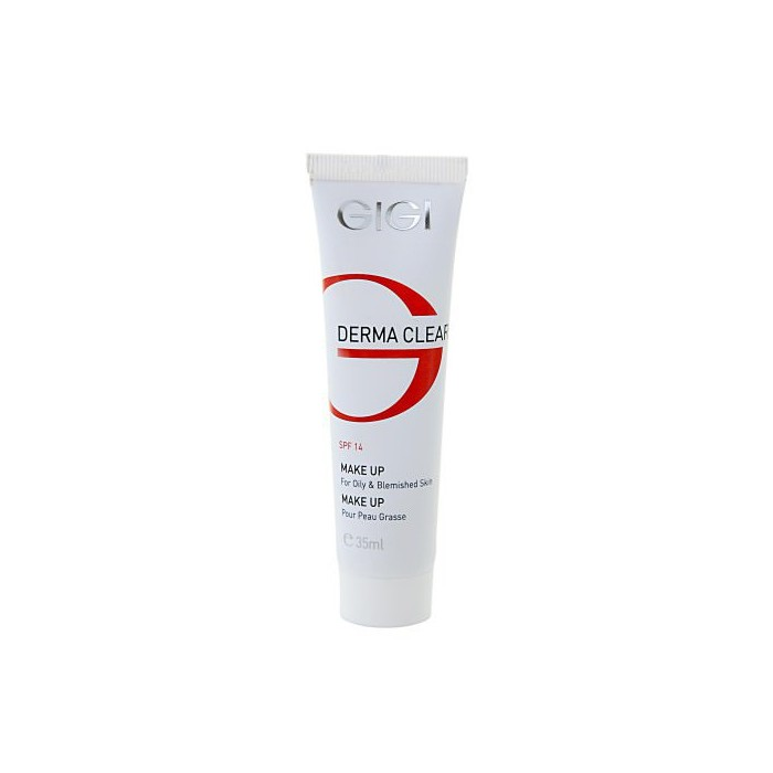 Тональный крем для жирной кожи 30 мл  / Derma Clear Make-up for oily skin SPF14 30 ml